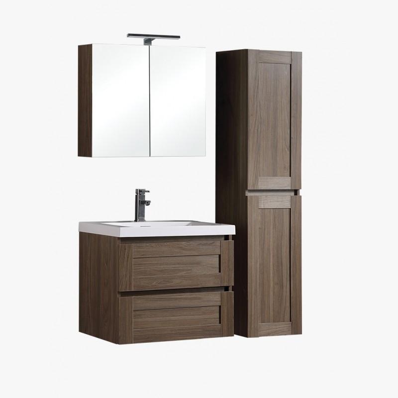 aqualuna ensemble de salle de bain 80 cm