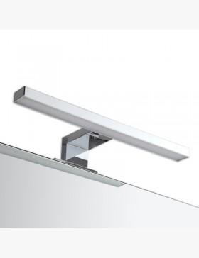 Applique led 30 cm chrom pour miroir salle de bain - Led pour salle de bain ...