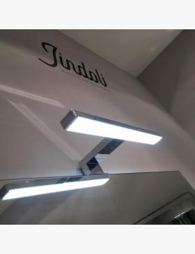 applique led 30 cm chrom pour miroir salle de bain. Black Bedroom Furniture Sets. Home Design Ideas